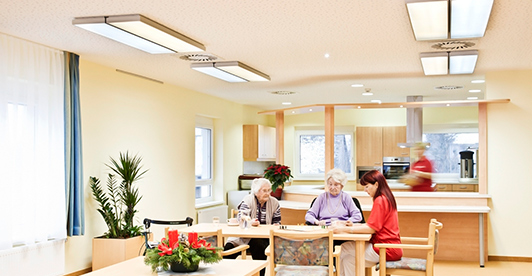 Lighting solutions for the elderly
