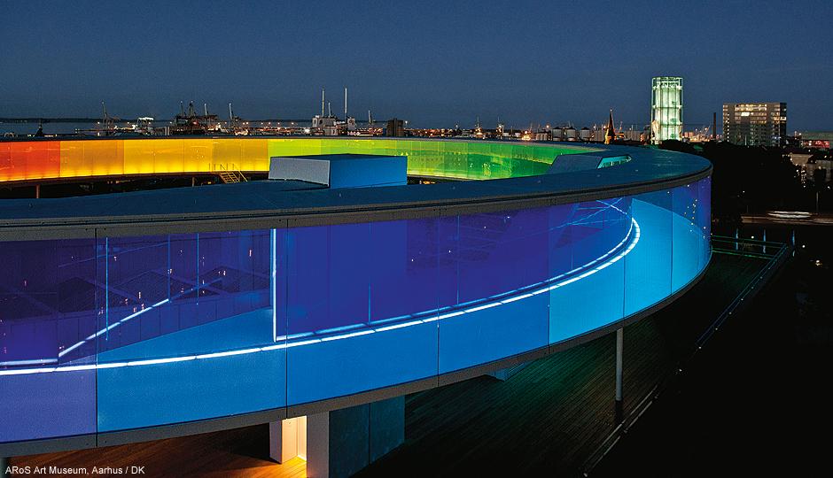 Fasade Og Arkitektonisk Led Belysning Zumtobel