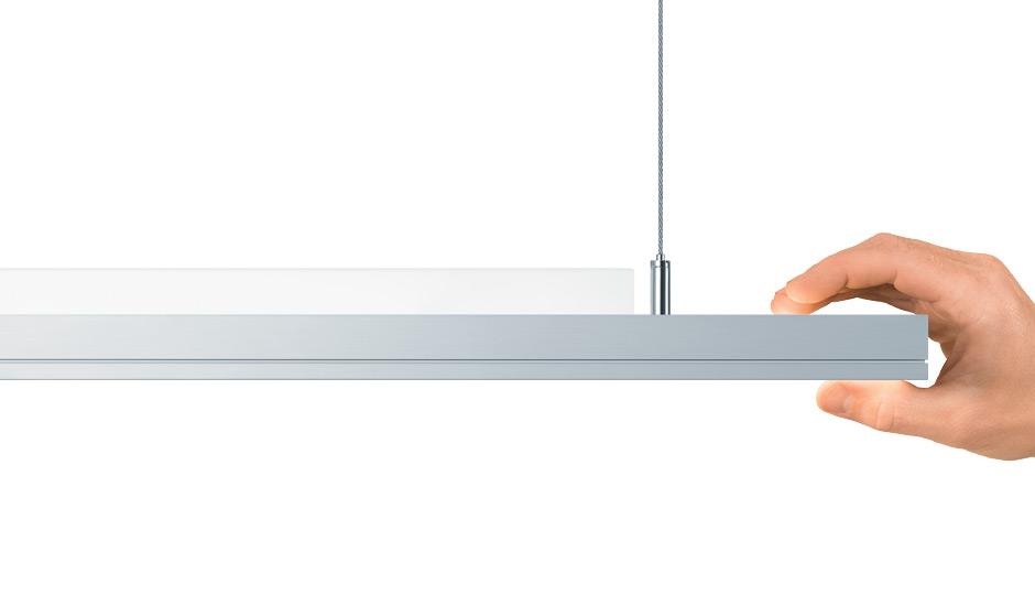 light fields evolution led luminaire range zumtobel. Black Bedroom Furniture Sets. Home Design Ideas