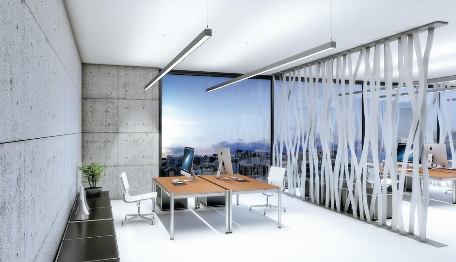 indirekt direkt led pendelleuchte lincor zumtobel. Black Bedroom Furniture Sets. Home Design Ideas