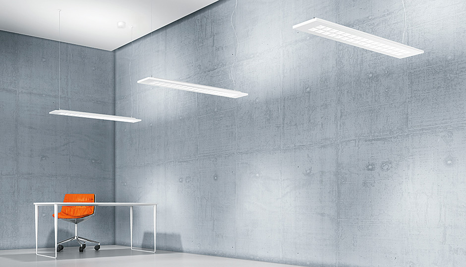 MIREL evolution recessed and surface-mounted LED luminaire - Zumtobel
