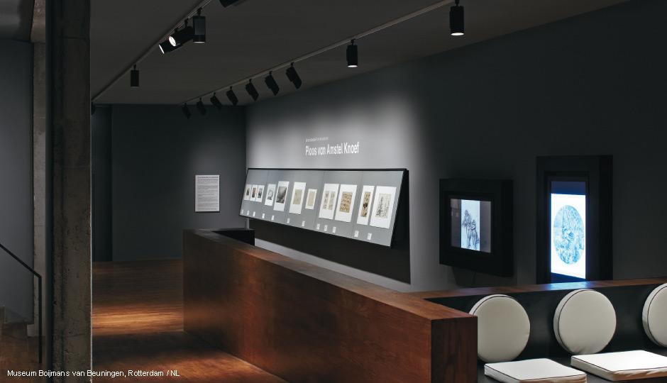 Museumverlichting Led Spotsysteem Arcos Zumtobel