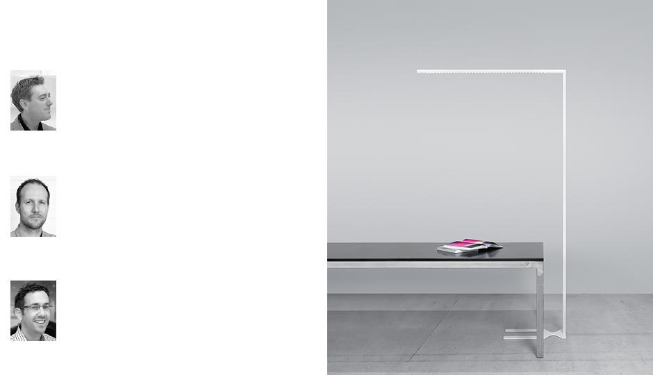 Free-standing LED luminaire LINETIK - Zumtobel