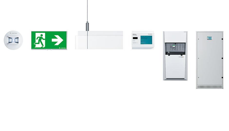 Sicherheitsbeleuchtung Und Notlichtsysteme Zumtobel