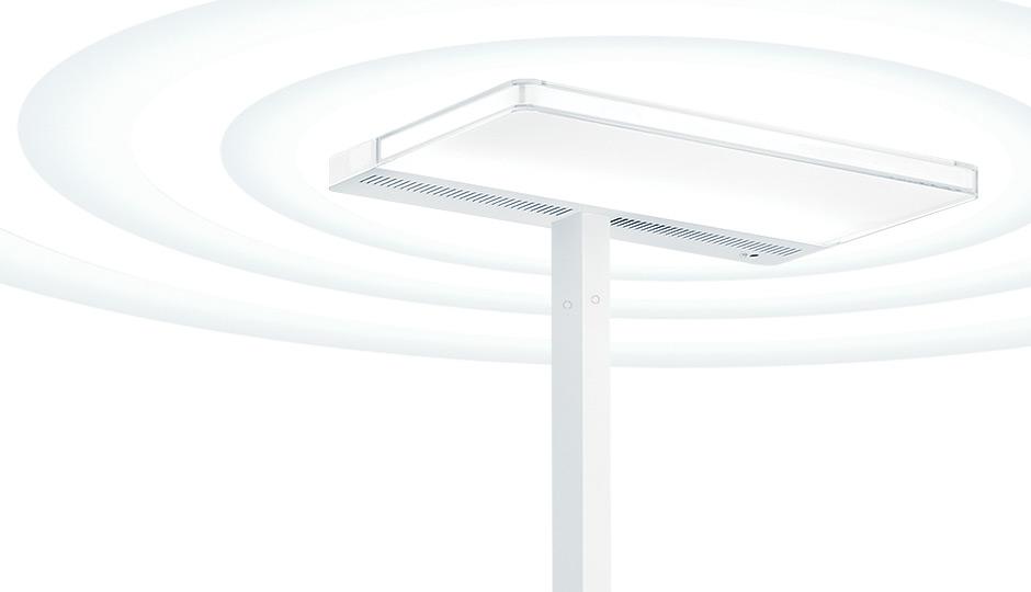 led staanlamp sfera met swarmcontrol zumtobel. Black Bedroom Furniture Sets. Home Design Ideas