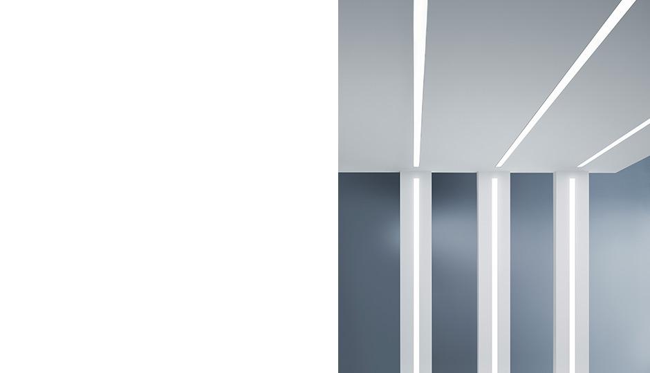 Led Lichtband Slotlight Infinity Slim Zumtobel