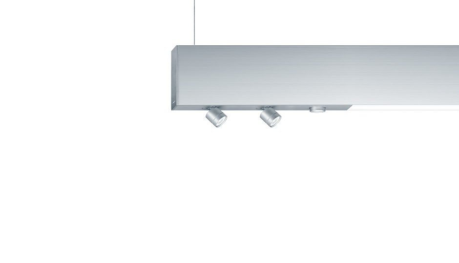 Multifunktionales LED-Lichtsystem SUPERSYSTEM - Zumtobel