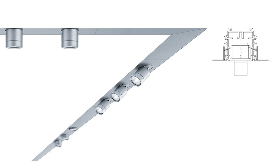 Multifunctional supersystem led lighting system zumtobel supersystem aloadofball